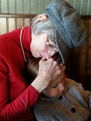 Nanny lovin Maeryn