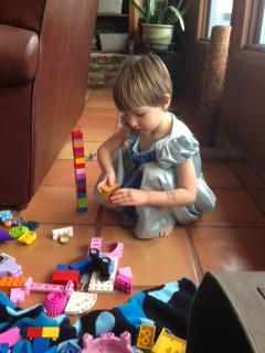 Legos at Nanny's