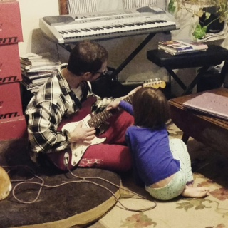 Guitar with Daddy