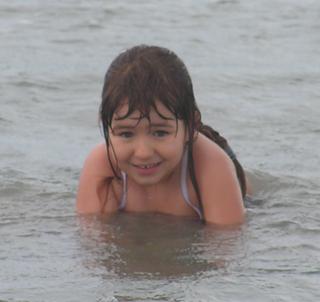 Amelia at 8