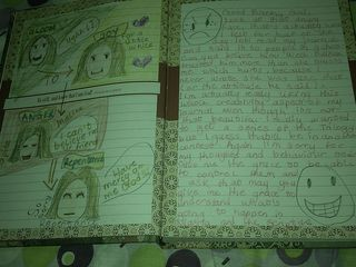 Nimi's journal page